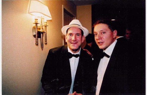 Matt Drudge & Steve Milloy at the White House Correspondents Association Dinner 2003