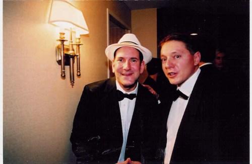 Matt Drudge & Steve Milloy at the White House Correspondents Association Dinner 2003