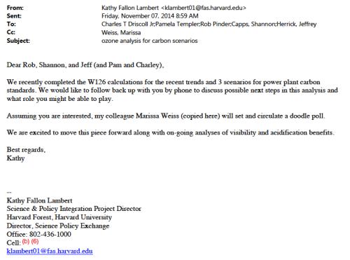 Driscoll Lambert e-mail 110714